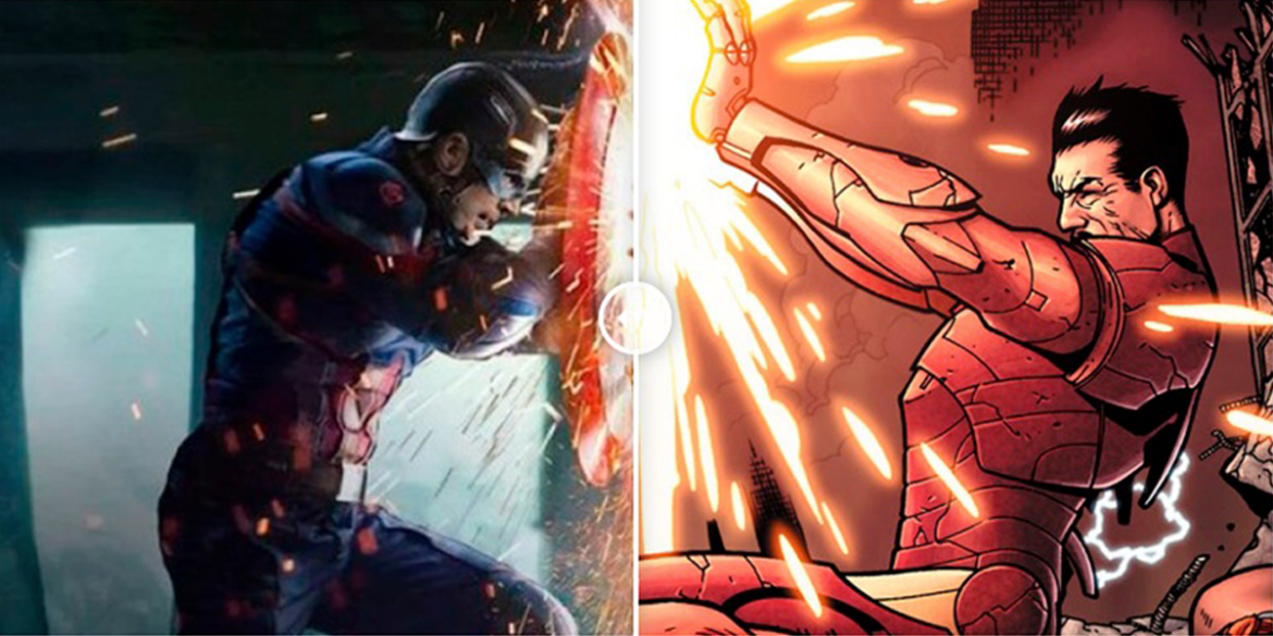 The Best Comic Book Panels Recreated in the MCU – The