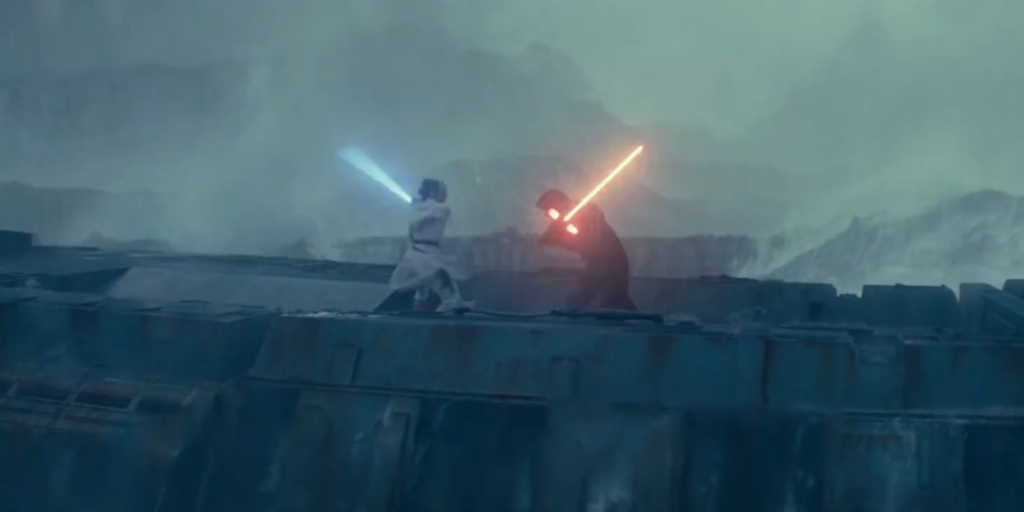 Star Wars The Rise of Skywalker - Ren vs Rey