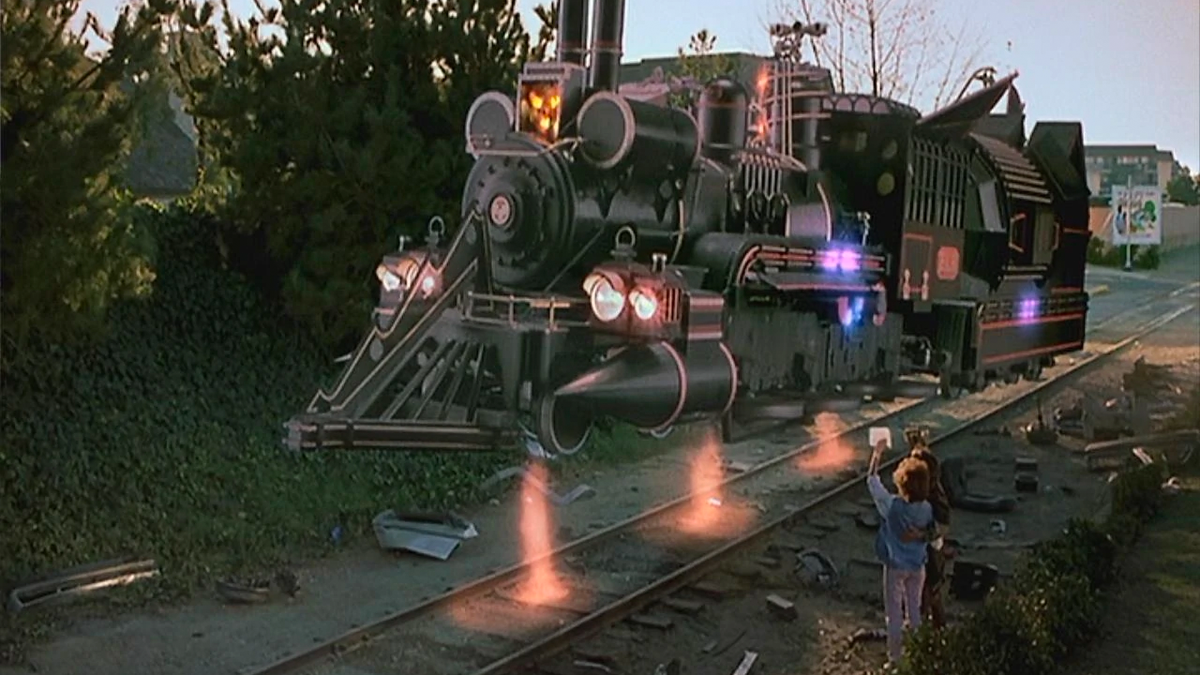 Back to the Future - Time Train
