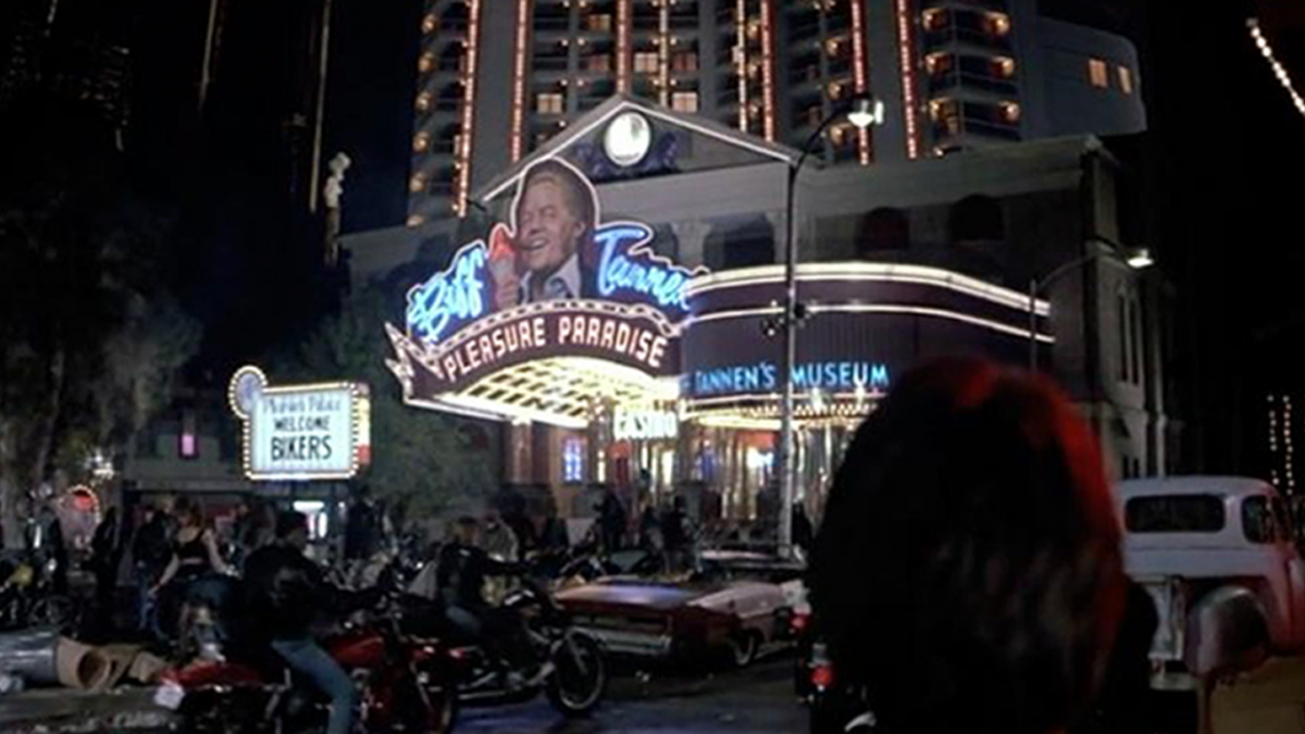 Back to the Future - Biff Hotel