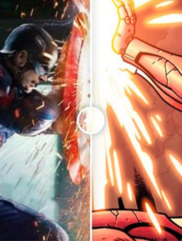 The Best Comic Book Panels Recreated in the MCU