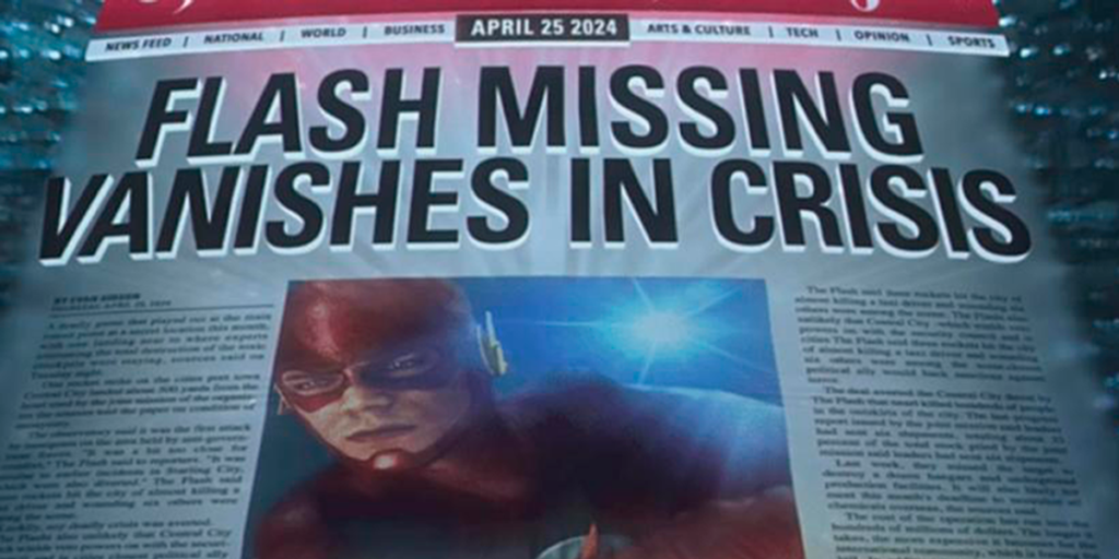 Arrowverse - Flash Goes Missing