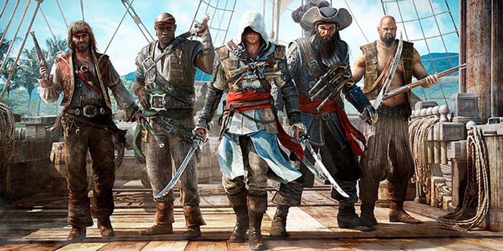 Assassin's Creed Black Flag - Pirates