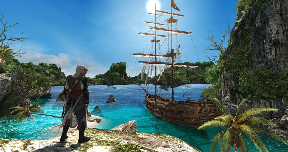 How Assassin's Creed: The Rebel Collection Delivers a Fitting Sense of Freedom Black Flag Scenery