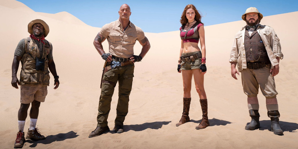 How Jumanji: The Next Level Brings the Franchise Back to Where it Began Dunes