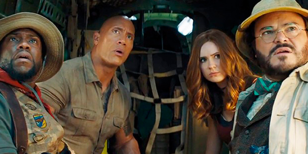 Jumanji: The Next Level's Best Easter Eggs, References, and Cameos Cover