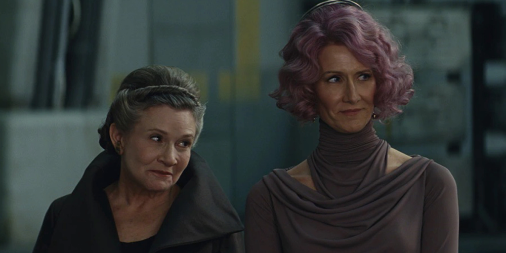 Star Wars The Rise of Skywalker's Best Easter Eggs, References, and Cameos - Leia and Holdo