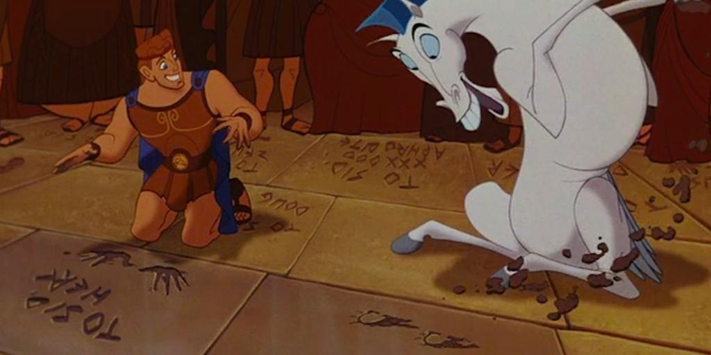 Disney's Hercules' Best Easter Eggs - Hand Prints