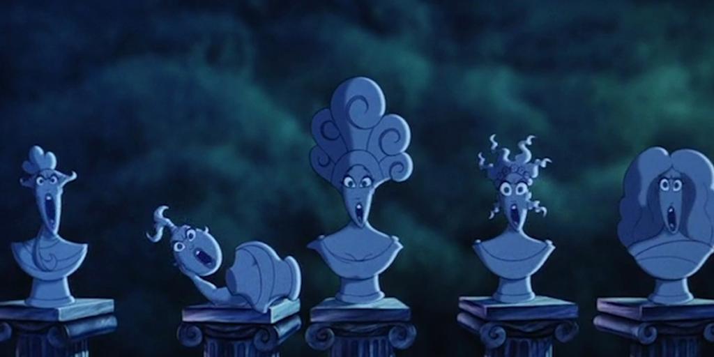 Disney's Hercules' Best Easter Eggs - Haunted Mansion