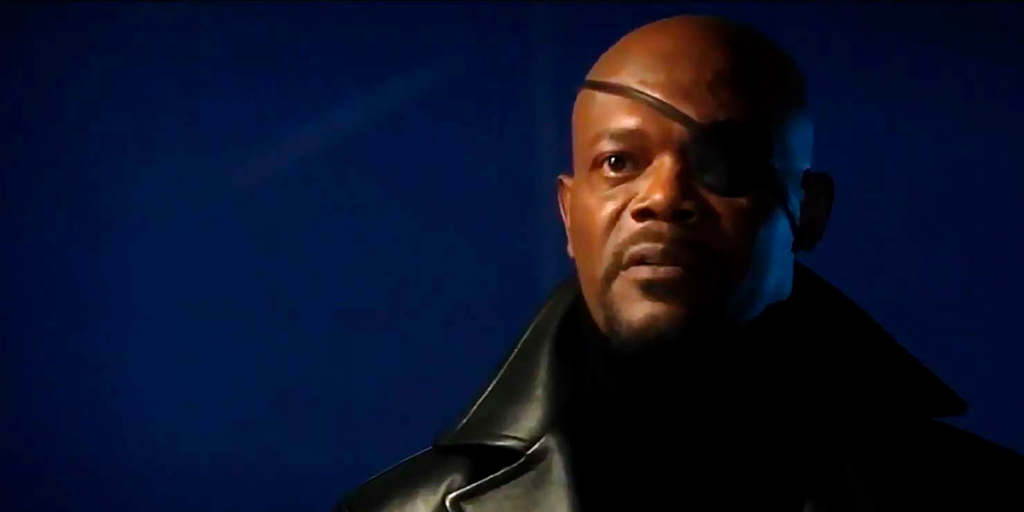 Iron Man's Best Easter Eggs - Nick Fury