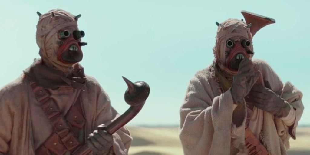 The Mandalorian Season 1's Best Easter Eggs - Tusken Raiders