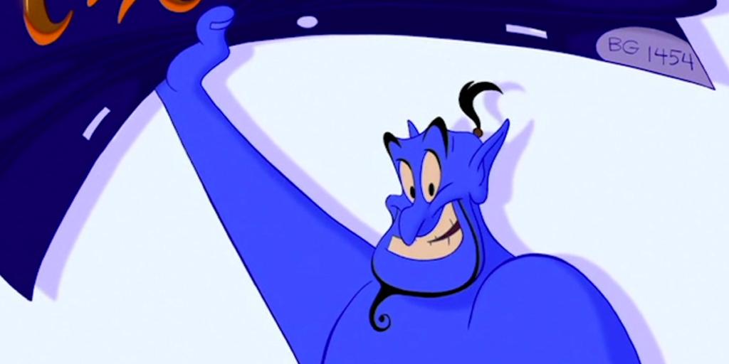 Disney's Aladdin's Best Easter Eggs - BG1454