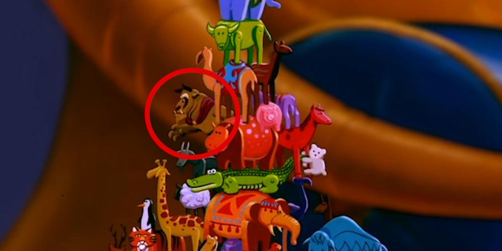 Disney's Aladdin's Best Easter Eggs - The Beast