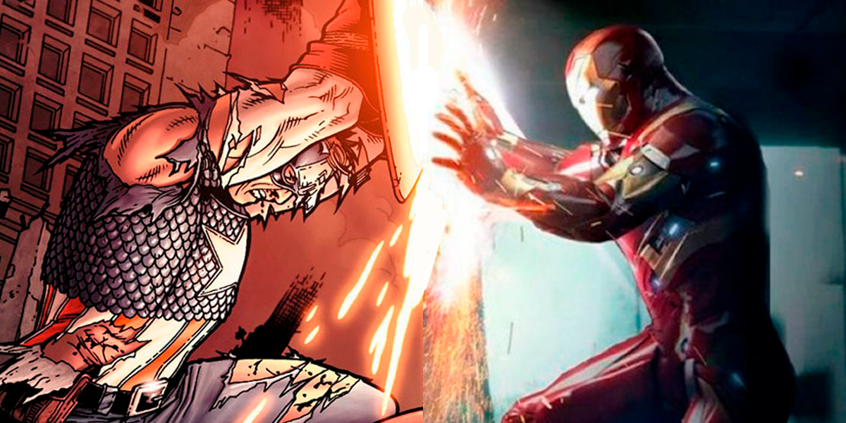 Civil War: The Biggest Differences Between the Comics and the Movie - Cover