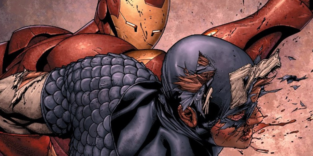 Civil War: The Biggest Differences Between the Comics and the Movie - Cap vs Iron Man