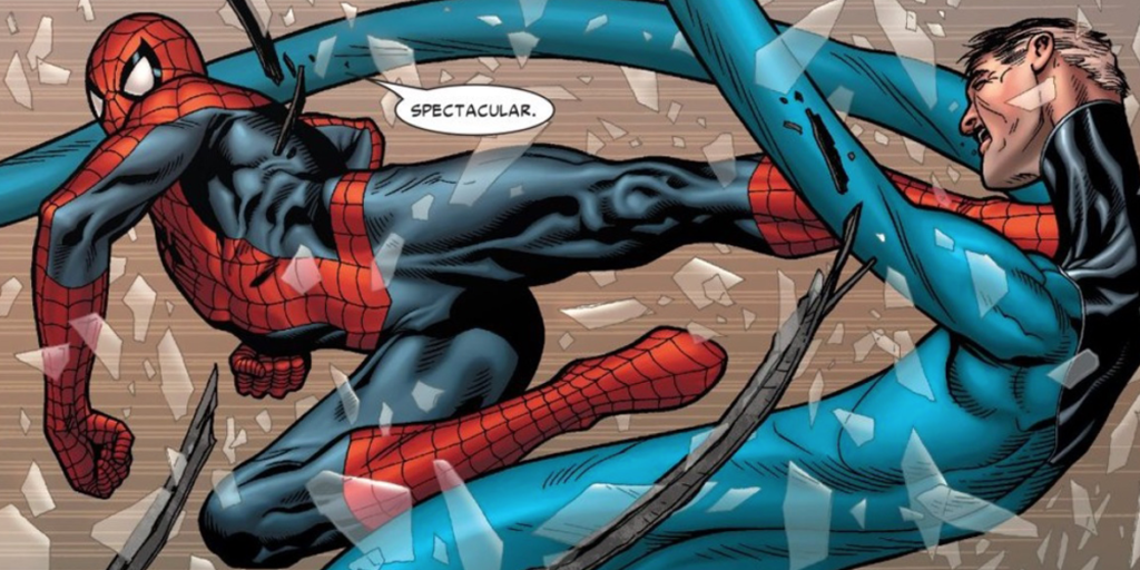 Civil War: The Biggest Differences Between the Comics and the Movie - Spider-Man vs Mister Fantastic
