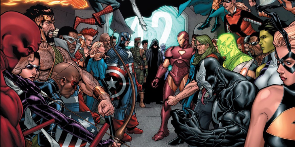 Civil War: The Biggest Differences Between the Comics and the Movie - The Teams (Comics)