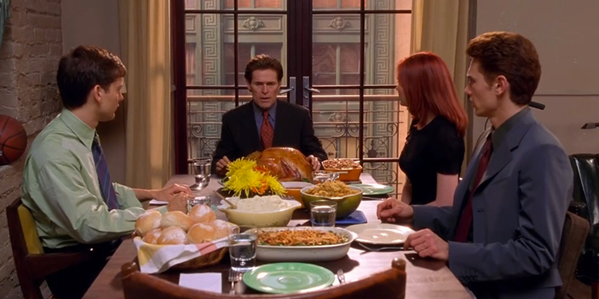 The Best Comic Book Panels Recreated in Spider-Man Movies - The Dinner Scene (Movie Version)
