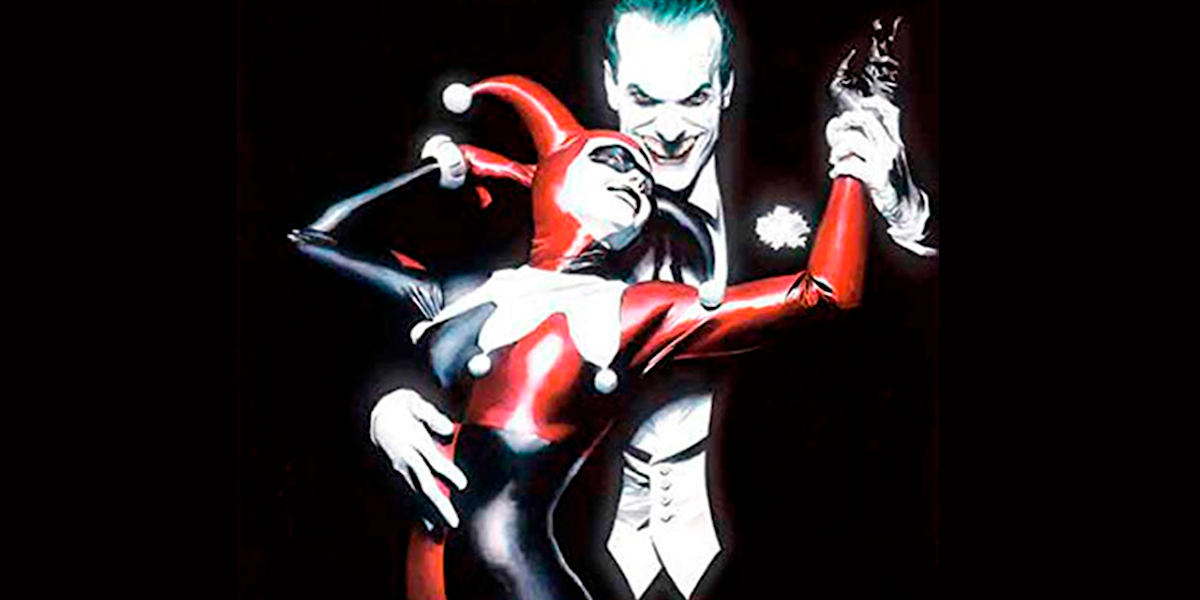 DC Side by Side - Batman: Harley Quinn