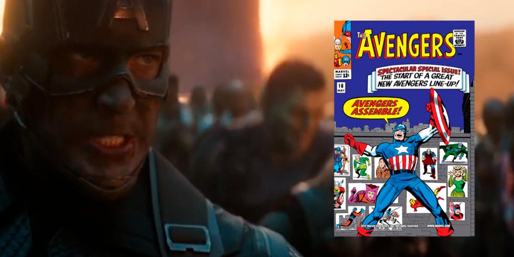 The Best Captain America Comic Book Panel Recreations - Assemble