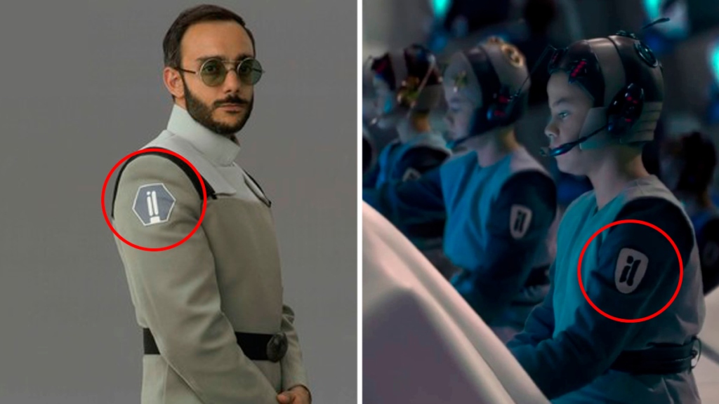 The Mandalorian Season 2 Easter Eggs, References, and Cameos - Perhsing's Armband