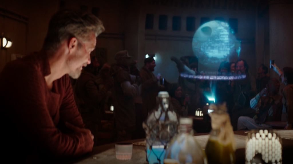 The Mandalorian Season 2 Easter Eggs, References, and Cameos - Death Star Explosion