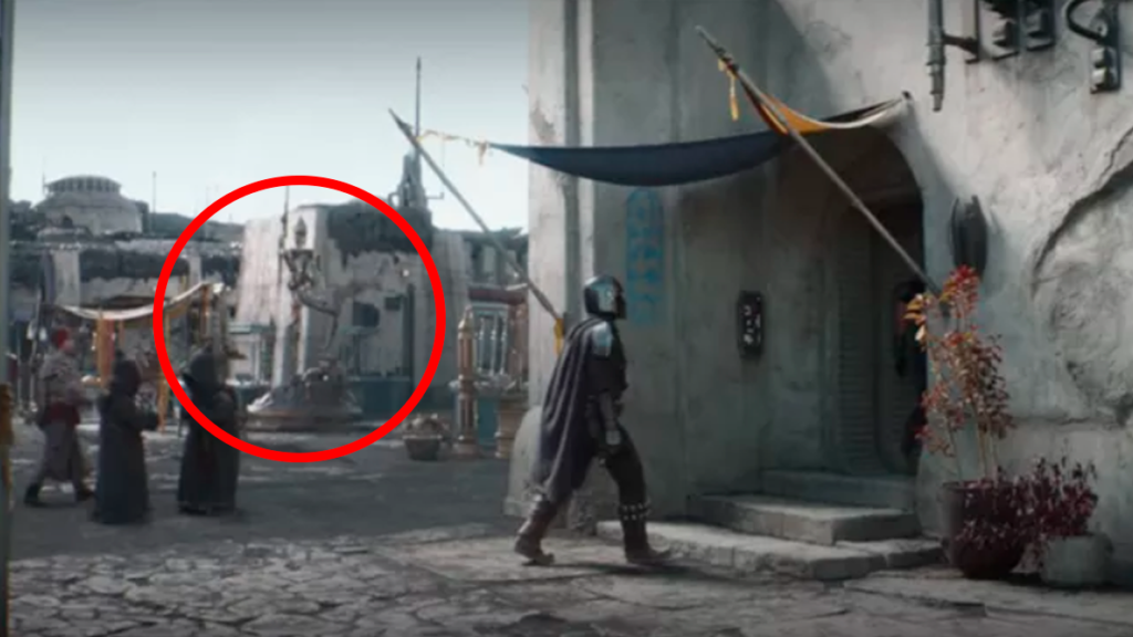 The Mandalorian Season 2 Easter Eggs, References, and Cameos - IG-11 Statue
