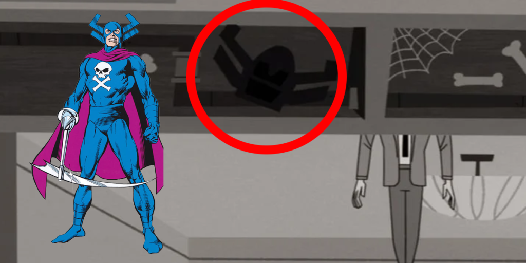 WandaVision Easter Eggs, References, and Cameos - Grim Reaper