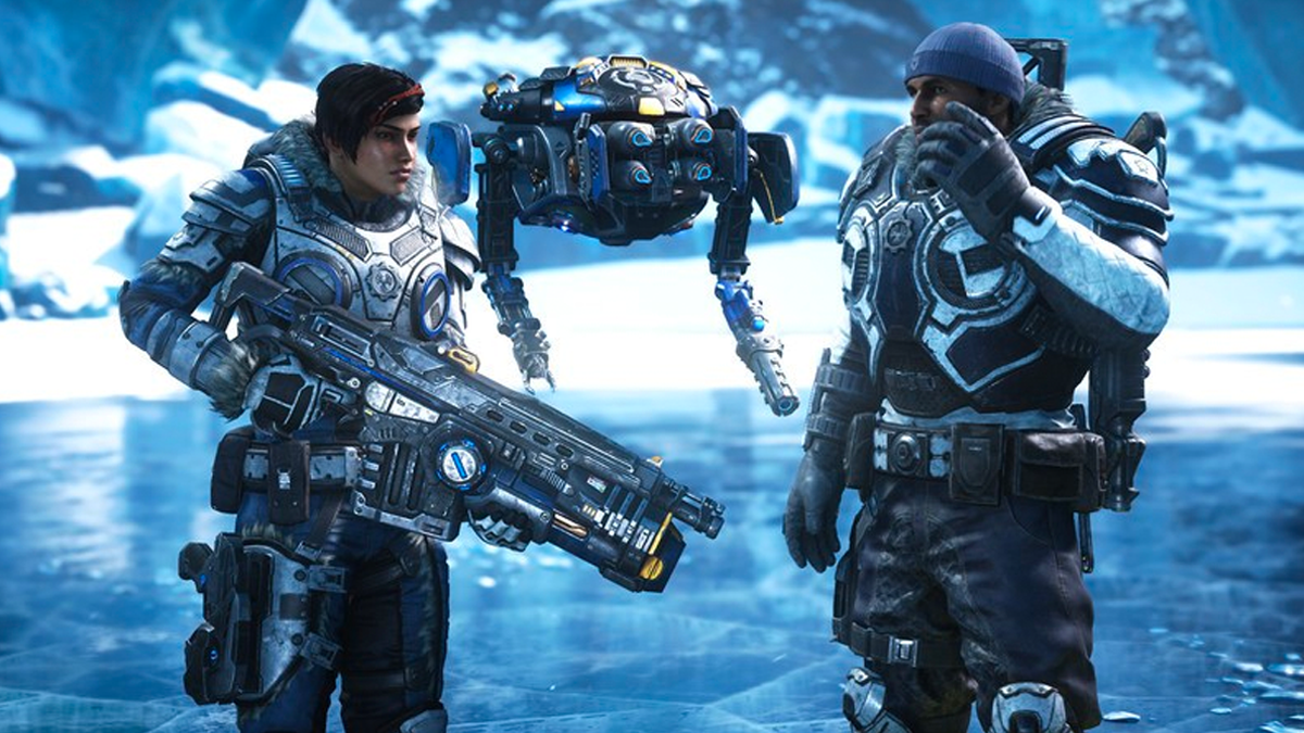 Gears 5 - Kait and Marcus