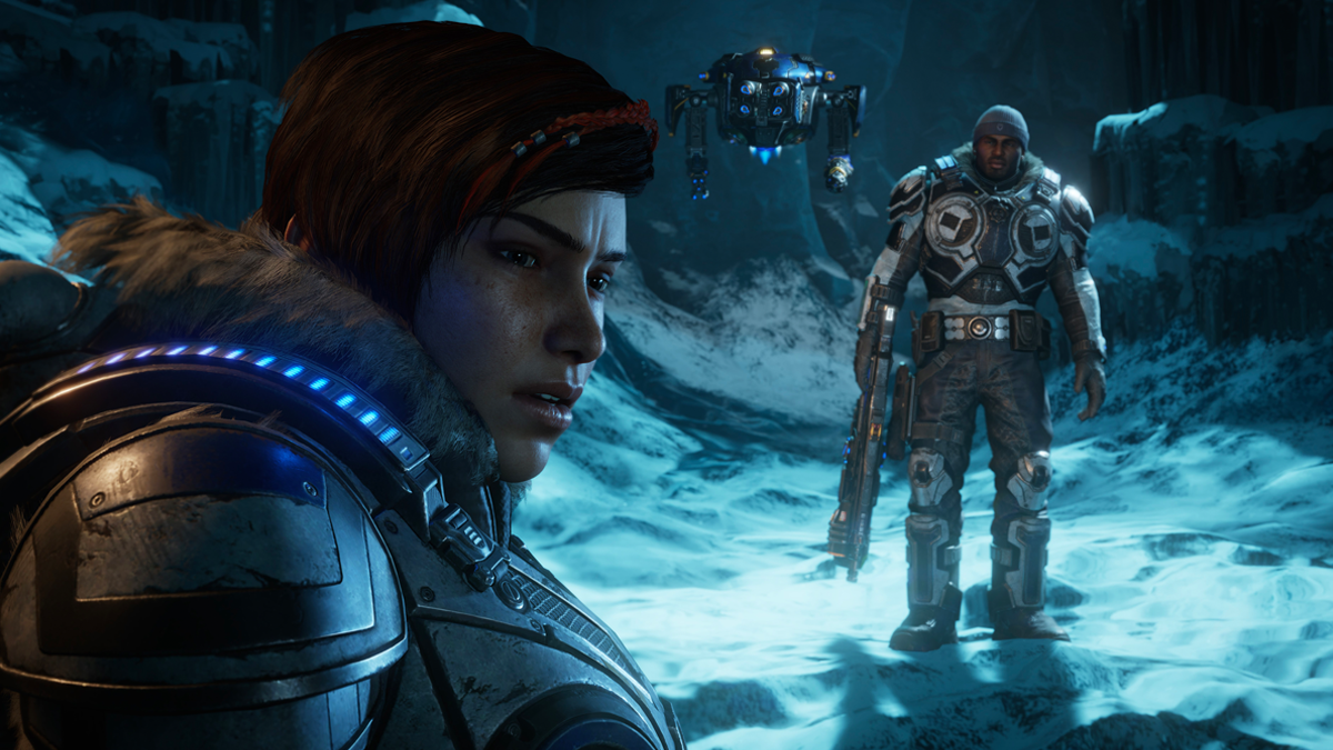 Gears 5 - Kait and Dell