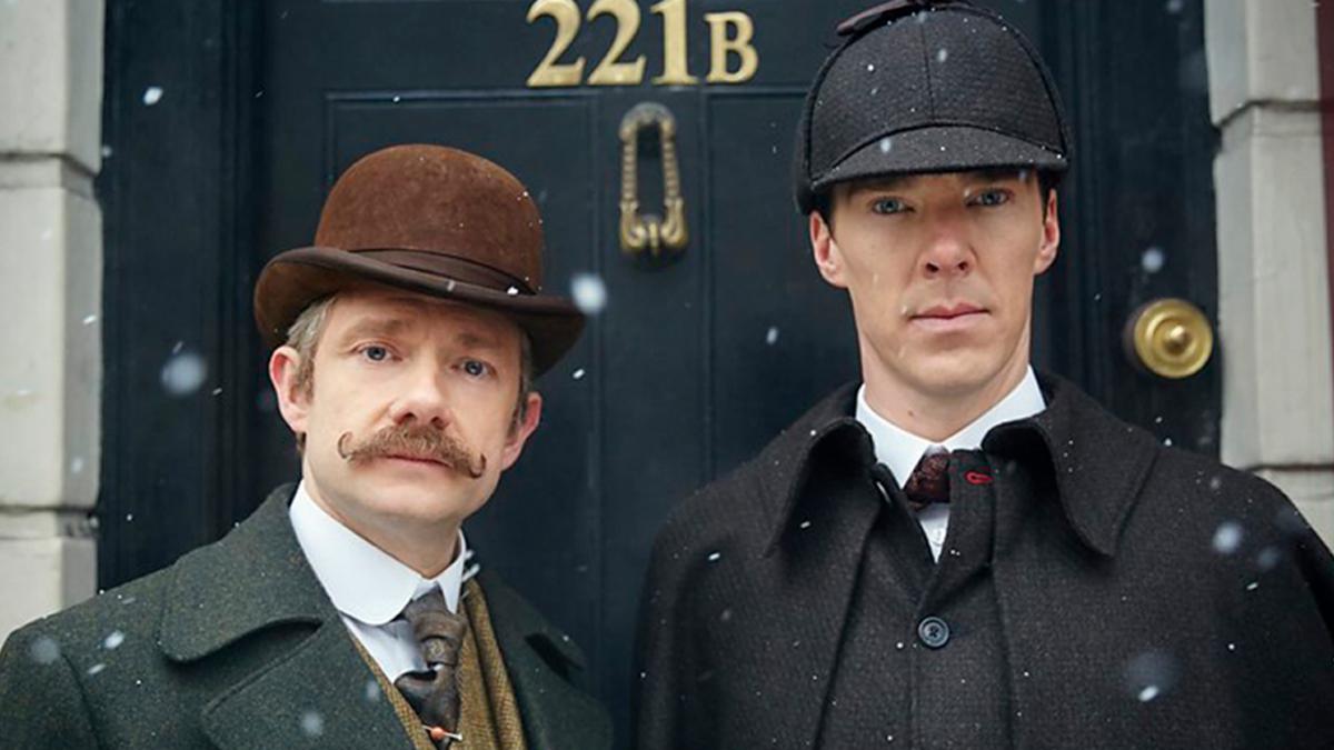 Sherlock Ten Years Later - Victorian Holmes and Watson