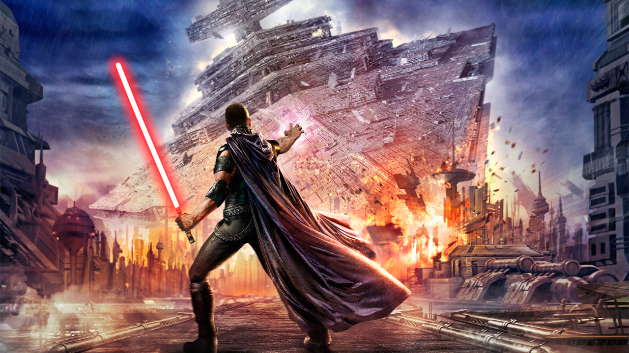 The Force Unleashed - Downed Destroyer