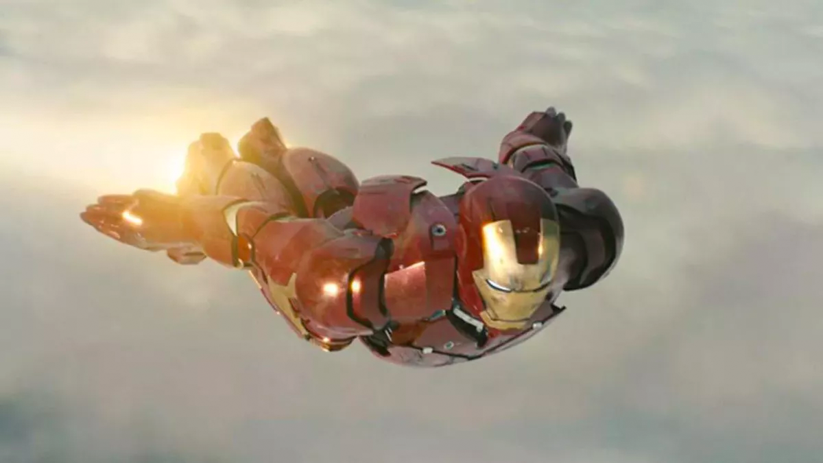 The MCU Reinventing The Comic Books - Iron Man Flying