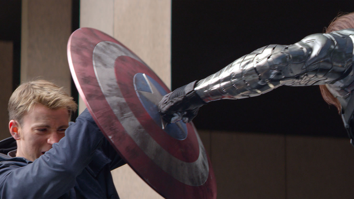The MCU Reinventing The Comic Books - Shield Punch