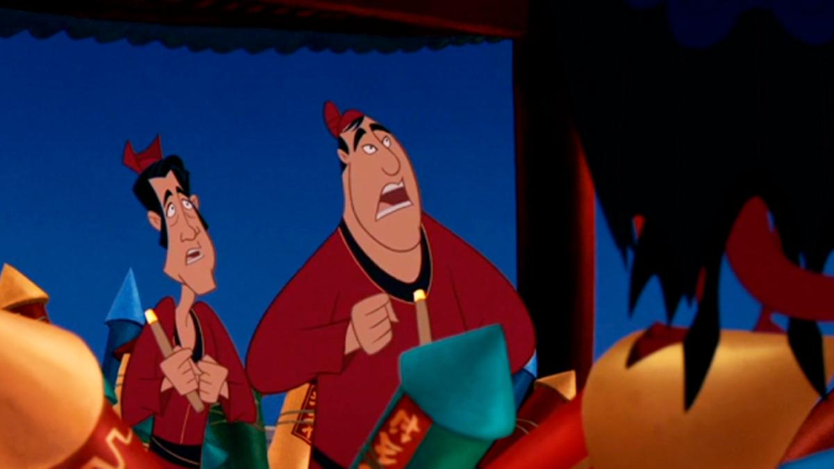 Disney's Mulan Easter Eggs - The Directors