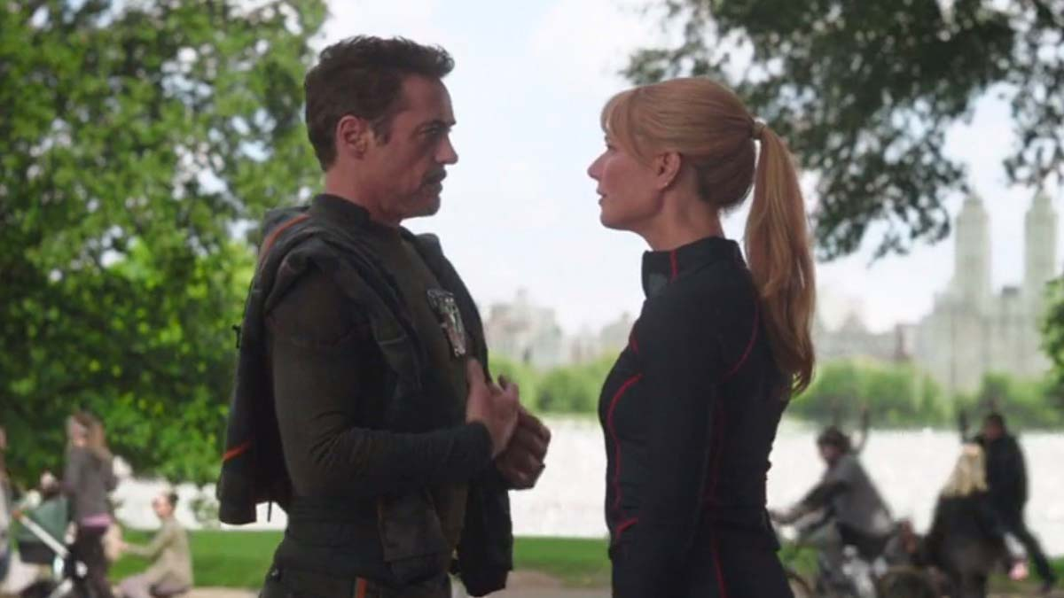Iron Man: The Evolution of a Hero - Infinity War Tony and Pepper