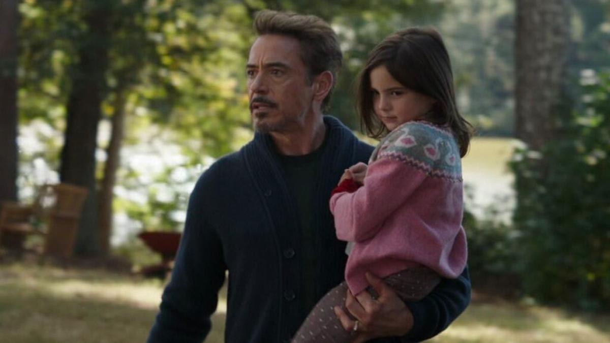 Iron Man: The Evolution of a Hero - Tony and Morgan