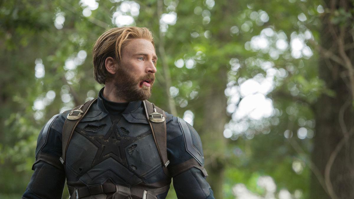 Captain America Arc - Infinity War Steve