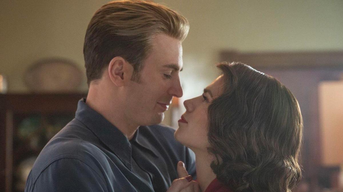 Captain America Arc - Steve and Peggy