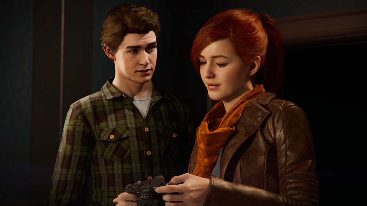 Marvel's Spider-Man - Peter and MJ