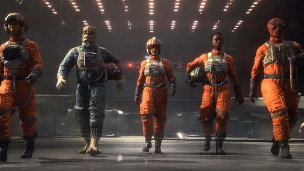 Star Wars Squadrons - Rebel Pilots